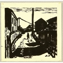 Fujishima Takeji: The Sunset Street - Artelino