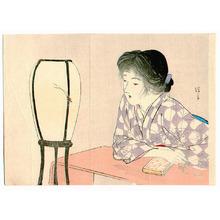 Kaburagi Kiyokata: Singing Cricket (Kuchi-e) - Artelino