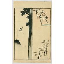 Utagawa Hiroshige: Ryusai Sohitsu Gafu - Cranes and Pine - Artelino