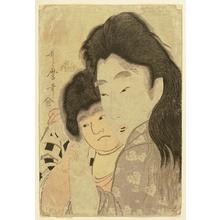 Kitagawa Utamaro: Yamauba and Kintaro - Artelino