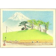 Tokuriki Tomikichiro: Thirty-six Views of Mt.Fuji - Harvest - Artelino