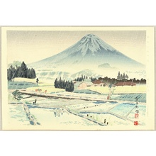 Tokuriki Tomikichiro: Thirty-six Views of Mt.Fuji - Foot of Mt.Fuji - Artelino