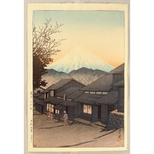 Kawase Hasui: Selection of Views of the Tokaido - Yui at Suruga - Artelino