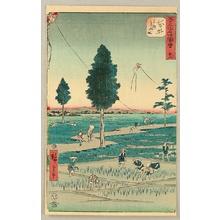 Utagawa Hiroshige: Gojusan Tsugi Meisho Zue (Upright Tokaido) - Fukuroi - Artelino