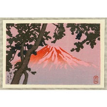 Kawase Hasui: Mt. Fuji seen from Tagonoura - Artelino