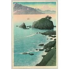 Kawase Hasui: Kude Beach, Wakasa - Artelino