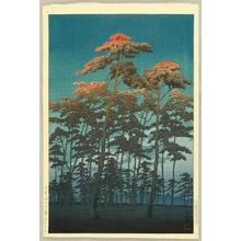 Kawase Hasui: Oomiya Hikawa Park - Artelino