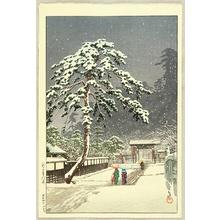Kawase Hasui: Honmon Temple - Artelino