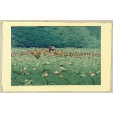川瀬巴水: Shiba Benten Pond - Artelino