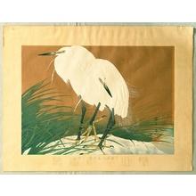 Tsuchiya Rakusan: Rakuzan Kacho Gafu - Egrets - Winter - Artelino
