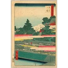 歌川広重: Meisho Edo Hyakkei - Ichigaya Hachiman - Artelino