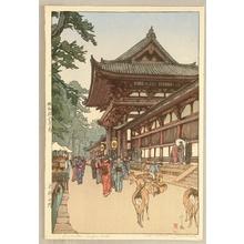 Yoshida Hiroshi: Daibutsu Temple Gate - Artelino
