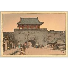 Yoshida Hiroshi: Dainan Gate at Mukuden - Artelino