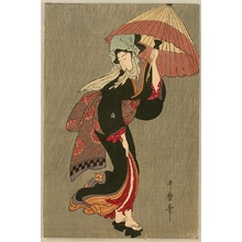 Kitagawa Utamaro: Beauty in the Rain - Artelino