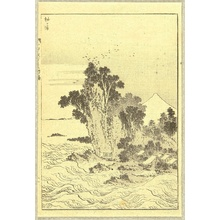 Katsushika Hokusai: One Hundred Views of Mt. Fuji - Sodegaura Bay - Artelino