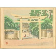 Yamaguchi Gen: Recollections of Tokyo - Meiji Shrine - Artelino