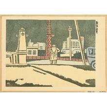 前川千帆: Recollections of Tokyo - Night at Shinjuku - Artelino