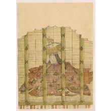 勝川春章: 100 Poems by 100 Poets - Empress Jito - Artelino