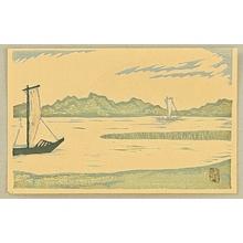 朝井清: Sailing Boats - Artelino