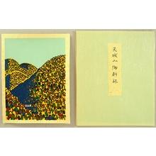 Hiratsuka Unichi: Forest on Mt. Amagi - Artelino