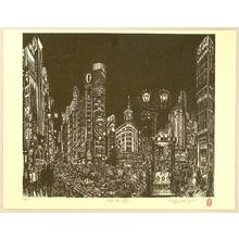 Asai Kiyoshi: Ginza Street - Artelino