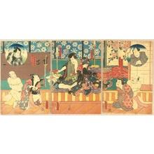 Utagawa Kunisada: Kabuki - Hostage - Artelino