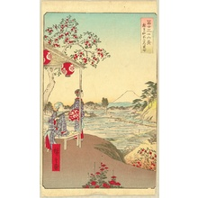 Utagawa Hiroshige: Thirty-six Views of Mt.Fuji - Zoshigaya - Artelino