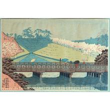 Fujishima Takeji: Benkei Bridge - Famous Places in Tokyo - Artelino