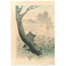 Miyagawa Shuntei: Beauty and Autumn Garden - Artelino