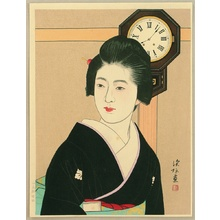 Ito Shinsui: Clock and Beauty II - Artelino