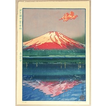 Paul Binnie: Famous Views of Japan - Red Fuji - Artelino