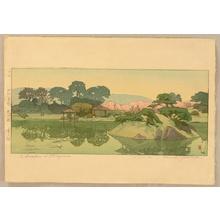 Yoshida Hiroshi: Garden in Okayama - Artelino