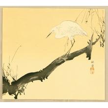 Tsukioka Kogyo: White Heron - Artelino