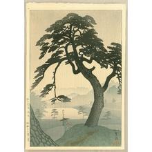 笠松紫浪: Kinokuni Hill in Rainy Season - Artelino
