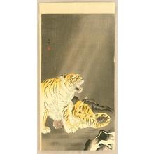 Ohara Koson: Roaring Tiger - Artelino