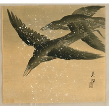 Takahashi Biho: Two Crows - Artelino