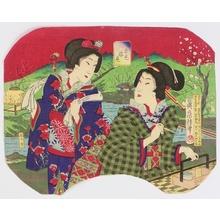 Utagawa Fusatane: Spring Scenery - Artelino
