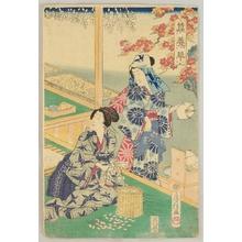 Utagawa Fusatane: Sericulture - Artelino