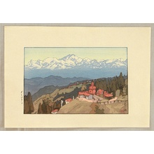吉田博: Morning in Darjeeling - Artelino