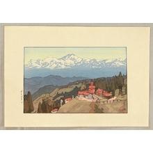 吉田博: Morning in Darjeeling - Artelino