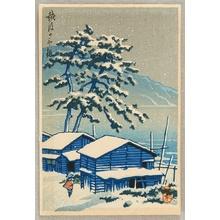 Kawase Hasui: Snowy Day - Artelino