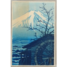 Kawase Hasui: Mt. Fuji in Winter - Artelino