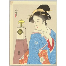 Ito Shinsui: Clock and Beauty I - Artelino
