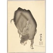 Takeuchi Seiho: Twelve Zodiac Signs - Ox - Artelino