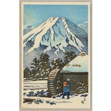 無款: Mt. Fuji in Winter - Artelino