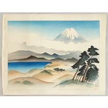 Yamagishi Kazue: One Hundred Views of Japan - Mt. Fuji from Tujido - Artelino
