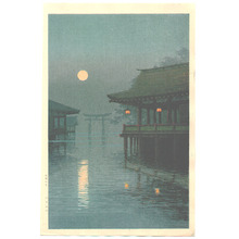Ito Yuhan: Misty Moon at Miyajima - Artelino