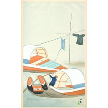 Takeuchi Seiho: Two Boats - Artelino
