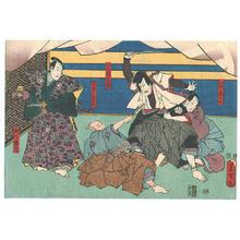 歌川国貞: Kabuki - Artelino
