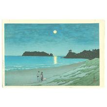 Kawase Hasui: Shichiri Beach in Soshu - Artelino